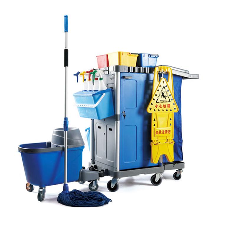 金易洁清洁车 机场高铁清洁系统