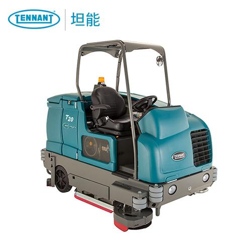 坦能T20洗地车 大型驾驶式洗地机