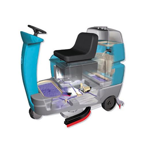 驾驶式洗地机怎么保养