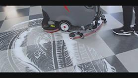 GM70BT洗地机操作视频