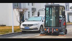 S1900ED扫地车操作视频