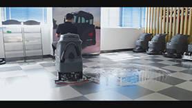 GM-AC洗地机演示视频
