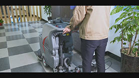 GM56B洗地机操作视频