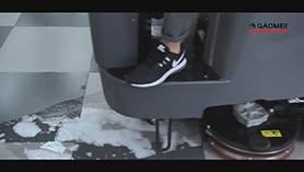 GM110BT70洗地机操作视频